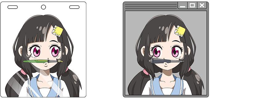 伝統的な日本のアニメ制作手法を、デジタルアニメーションで実現